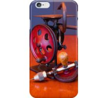 Vintage American Made Woodworking Scroll Saw And Hand Drill iPhone Case/Skin