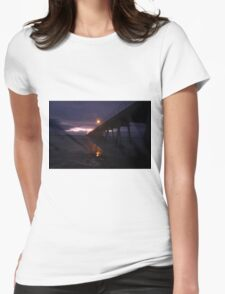 Port Hughes Jetty Pt.2 Womens Fitted T-Shirt
