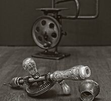 American Made Woodworker Gear Driven Hand Drill by EmeraldRaindrop