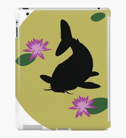 Yellow Koi iPad Case/Skin