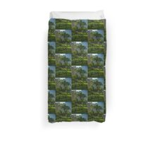 Pittsburgh Pa Garden  Duvet Cover