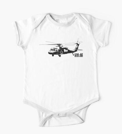 UH-60 Black Hawk One Piece - Short Sleeve