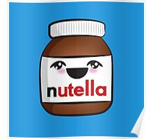 Nutella face 1 Poster