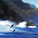 CAPE POINT DOLPHINS by defineart