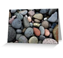 Stone Palette  Greeting Card