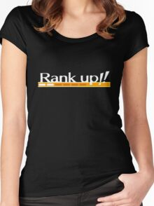Rank Up!! Persona 4 Women's Fitted Scoop T-Shirt