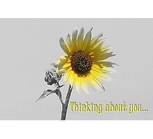 Thinking about you... Photographic Print