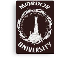 Mordor University Canvas Print
