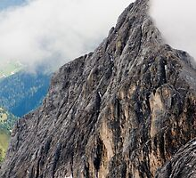 Mount Marmolada in northeastern Italy. The highest mountain of the Dolomites  by PhotoStock-Isra