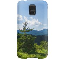 Impressions of Mountains and Forests and Trees Samsung Galaxy Case/Skin