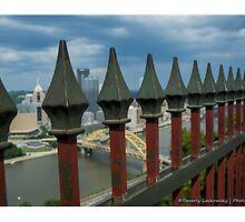 Mt. Washington Overlook - Pittsburgh, Pa by BLaskowsky