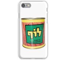 a tin of Luf, Israeli Kosher SPAM  iPhone Case/Skin