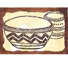 African clay pots - Ethnic series Photographic Print