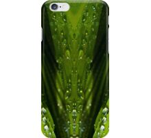 Floral Reflections in water iPhone Case/Skin