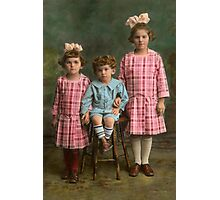 Americana - Molly, Solly and Bertie Photographic Print