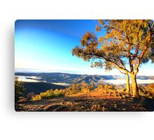 View - Kissing Point - Hill End NSW - The HDR Series Canvas Print