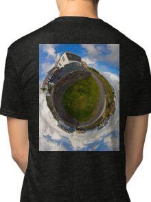 Tigh Ruairi - Inisheer Village (Sky out)  Tri-blend T-Shirt