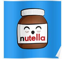 Nutella face 3 Poster
