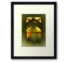 Product of Conception Framed Print