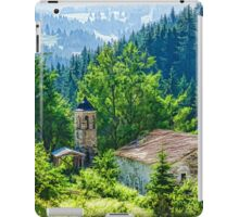 The Village Church - Impressions of Mountains and Forests iPad Case/Skin