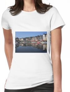 The Port Of Honfleur Womens Fitted T-Shirt