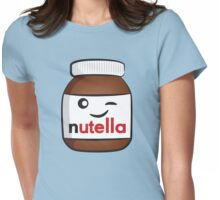 Nutella face 4 Womens Fitted T-Shirt