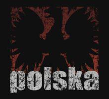 Polish Eagle Flame t shirt by PolishArt