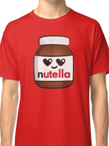 Nutella face 5 Classic T-Shirt