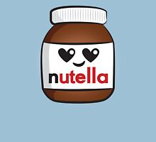 Nutella face 5 Womens Fitted T-Shirt