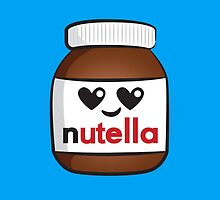 Nutella face 5 by Lauramazing