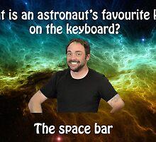 lame dad space joke  by crabtitz