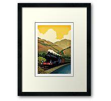 Steam Train-Douro valley Framed Print