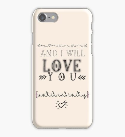 ~Until Infinity~ iPhone Case/Skin