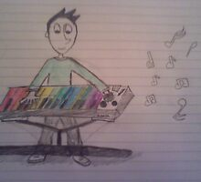 The Electronic Musician by TwoHeadedBoy
