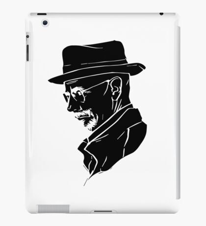 Walter White Heisenberg iPad Case/Skin