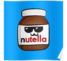 Nutella face 6 Poster