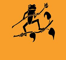 Tree Frog Silhouette Unisex T-Shirt