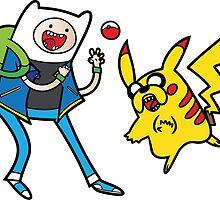 Pokemon Adventure Time by urgotv