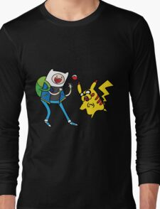 Pokemon Adventure Time Long Sleeve T-Shirt