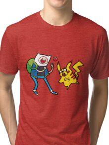 Pokemon Adventure Time Tri-blend T-Shirt