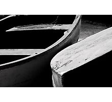 Wooden boats Photographic Print