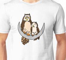 Moon Owls Unisex T-Shirt