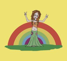 Rainbow Hippie! by Amy-lee Foley