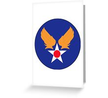 Army Air Force Greeting Card