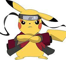 Pikachu Naruto by urgotv