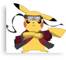Pikachu Naruto Canvas Print