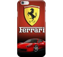 iPHONE FERRARI CASE iPhone Case/Skin