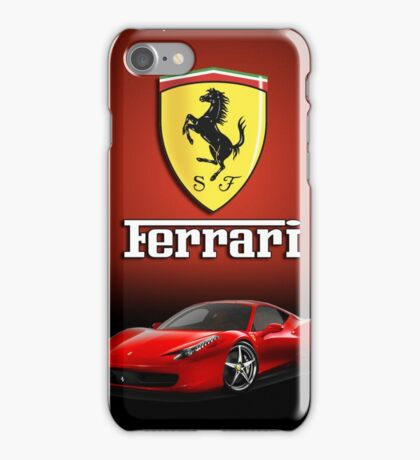 iPHONE FERRARI CASE iPhone Case/Skin
