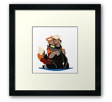 Rubberfox Framed Print