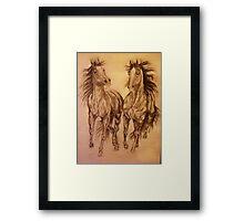 """Wild Oats"" Framed Print"